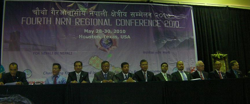 Panel Discussants of NRNA 4th Regional Conference