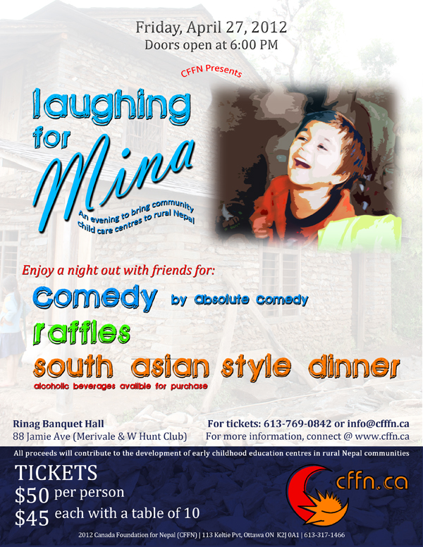 Laughing for Mina Fundraiser
