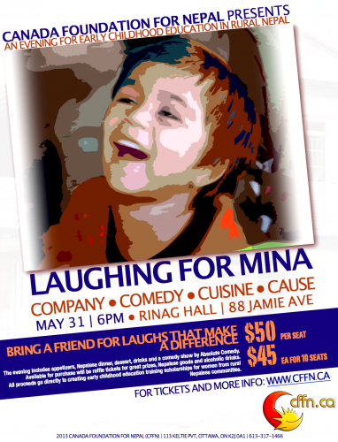 Laughing for Mina 2013